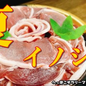 夏のイノシシの味はどうなの?日本猪牧場さんのプレゼント企画に当選。