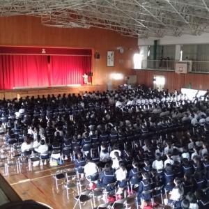 日記 東部中学の文化祭