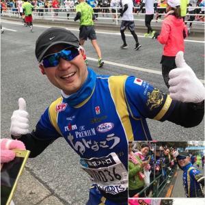 ざんねぇ〜ん(涙)東京マラソン‼️