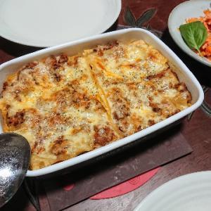 いろいろとアコガレのある料理、ラザニア。