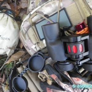 散弾銃猟で使う予定の道具を山で実際に試してきた
