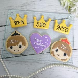 キンプリのアイシングクッキー♡