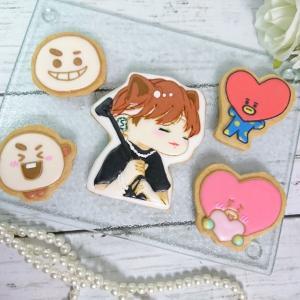 防弾少年団&BT21のアイシングクッキー♡