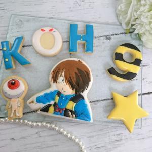 鬼太郎などアイシングクッキーのオーダー作品♡