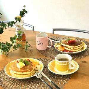美味しいフルーツとスンヌンタイでほっこり朝ごはん(*´꒳`*) & スーパーセールが始まります♩