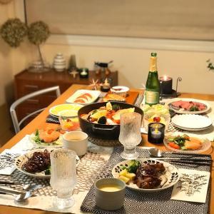 【2019年】北欧食器でクリスマスディナー☆ & ラストポチ!はキッチングッズで完走~(^^♪