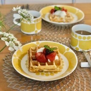 美味しいワッフルでおうちカフェを楽しもう♡ & ポチレポ!クーポンでお得に夏服ゲット(^^♪