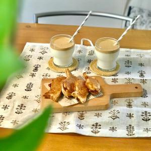 【おうちカフェ】焼きたてのたい焼きをお家で♫ & 憧れのモノをついに(*ノωノ)