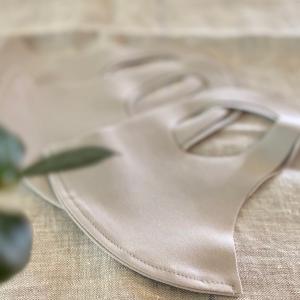 楽しみにしていた冷感マスク♩とわが家の洗えるマスクたち(*´꒳`*)