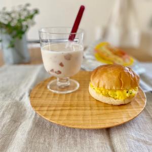 【ローソン】新商品!とろとろTAMAGOバーガーでおうちカフェ(*´꒳`*)