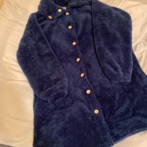 ふわもこであったかいお気に入りの着る毛布♡& ポチレポ!半額で買えたファッションアイテム(^^♪