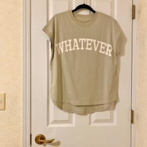 【ファッション】人気のロゴTシャツが予想以上の可愛さ♡ & お買い物マラソンお得情報(^^♪