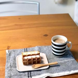 ホワイトデー♡ のお返しは美味しいワッフルケーキ(´ω`*)