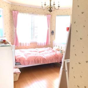 【娘の部屋】ラブリーな部屋が完成しました(´ω`*)