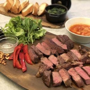 【おうちステーキ】外国産ステーキを美味しく焼くコツ〜Thai F