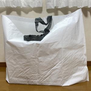無印良品のショッピングバッグは凄い便利だよ!