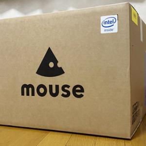 新しいパソコンです♪ mouse DT5