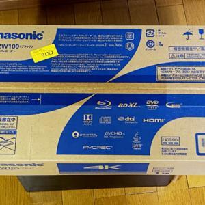 Amazon プライムデーで買いました!Panasonic ブルーレイディスクレコーダー DMR-2W100