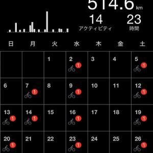 2021年 6月 ロードバイクで頑張った記録