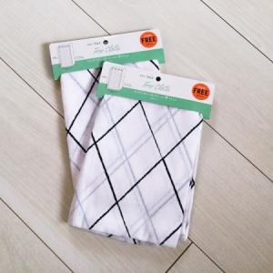 100均DIY|布をカーテン代わりに!突っ張り棒で簡単に手作り
