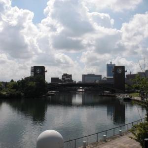 富山旅⑱ 富山県富岩運河還水公園