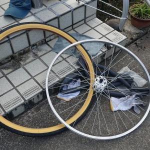 タイヤをリセット
