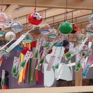 川遊びからの風鈴祭り