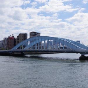 永代橋の眺め