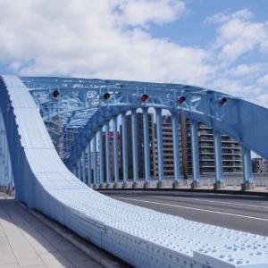 白昼の永代橋-1
