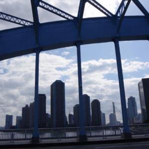 白昼の永代橋-3