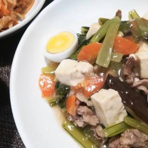 一皿で簡単中華風のおかず