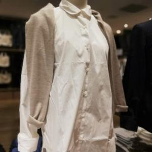 無印良品 新しい白シャツシリーズも良いが、秋はやっぱりシャツワンピが欲しい!