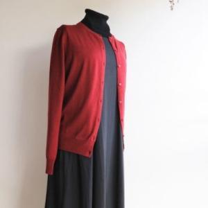 無印良品の服*夏のワンピースを秋まで着回したらオール無印コーデだった