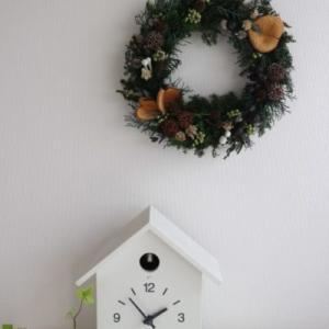 無印良品で買った「クリスマスリース」は一年経っても美しい!今年も飾ります