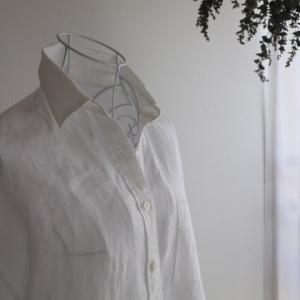 制服認定*白シャツコーデは無印良品のフレンチリネンがおススメ!