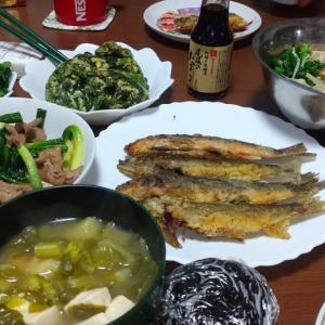 頂き物と旬の夕ごはん♪など(^^ゞ