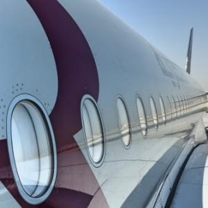 話題の最新機種!!カタール航空エアバスA350搭乗レビュー