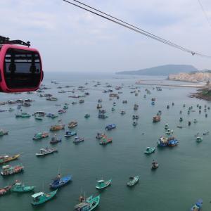 結構怖い?!ベトナムのフーコックで世界最長のケーブルカー体験!!ホントムケーブルカー(Hon Thom Cable Car)