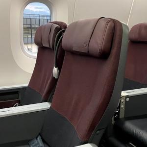 ひとつ上の座り心地♪羽田-伊丹線のJAL国内線のB787-8のクラスJに搭乗してきました♪