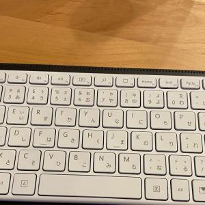 Apple マジックキーボード用のキーボードケースをMicrosoft デザイナーコンパクトキーボード用に購入!