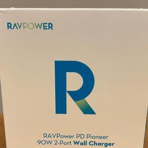 最強のPD充電器!RAVPower RP-PC128 90W GaN急速充電器をレビューします!