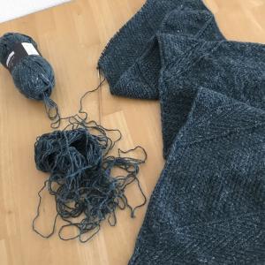 編み散らかしの現在と旦那氏の異変!