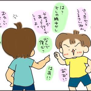 兄は拳で黙らせる。