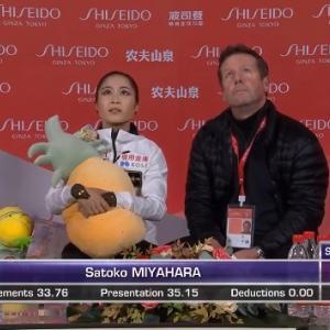 中国杯(女子SP)感想