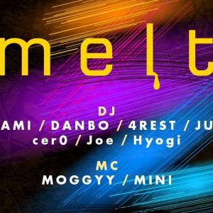 "2020/3/2 ""melt @ Giraffe Japan"""