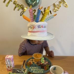 浅野剣斗6歳の誕生祭でした。ということは父親として6年経ったということです。
