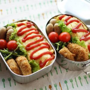 お弁当に空芯菜♡塩昆布炒め【レシピ】&昨日の晩ゴハンは地味目
