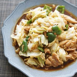 キャベツが美味しい☆鶏肉の回鍋肉風【レシピ】