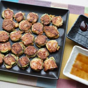 ズッキーニのベーコンチーズチヂミ【レシピ】