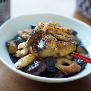 茄子とちくわの油味噌炒め【レシピ】